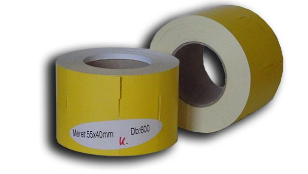 55x40 karton címke