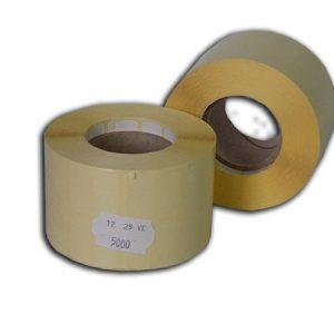 25x12 mm papír